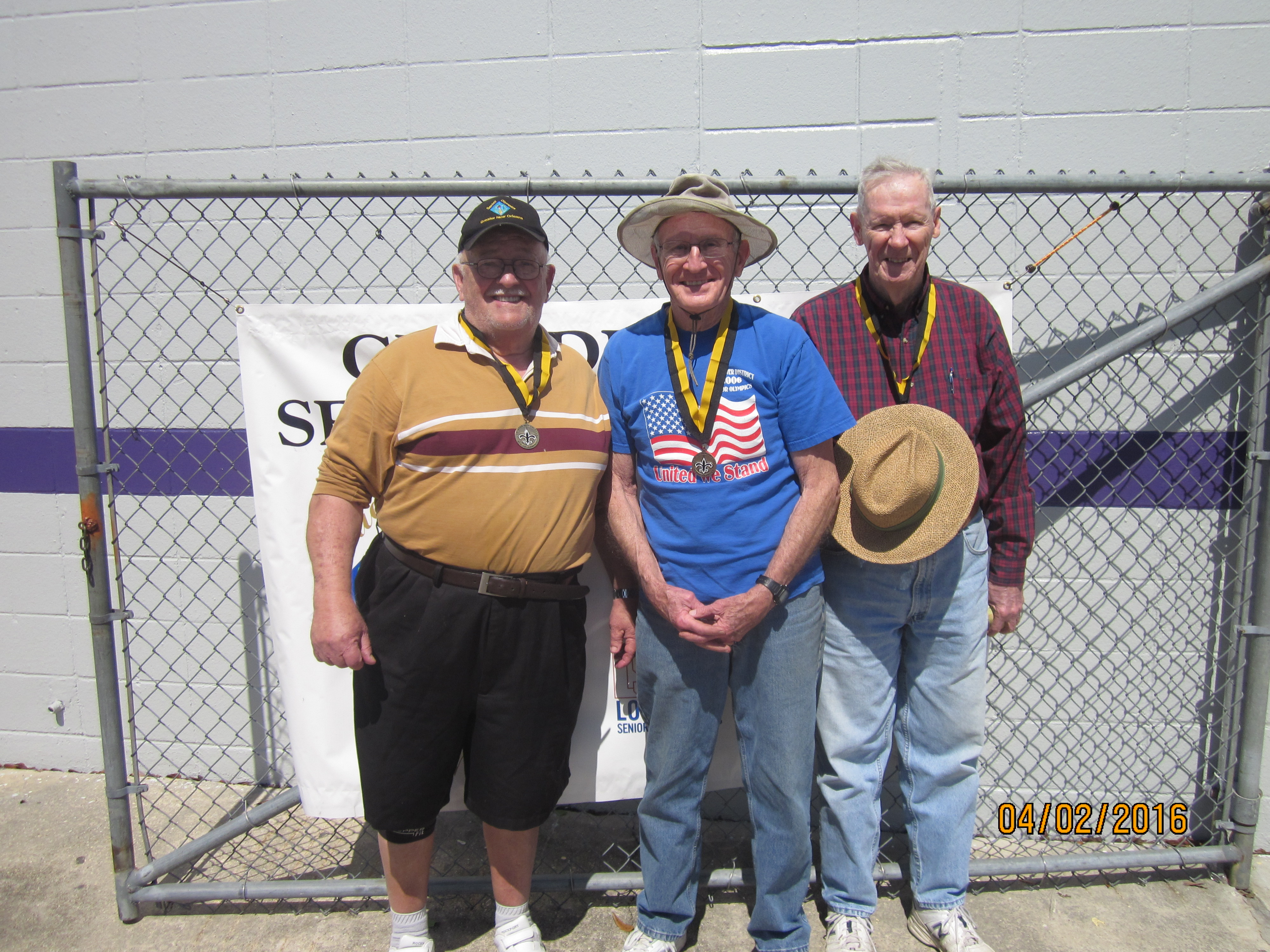 2016 Horseshoes Photo 4 of Medalists